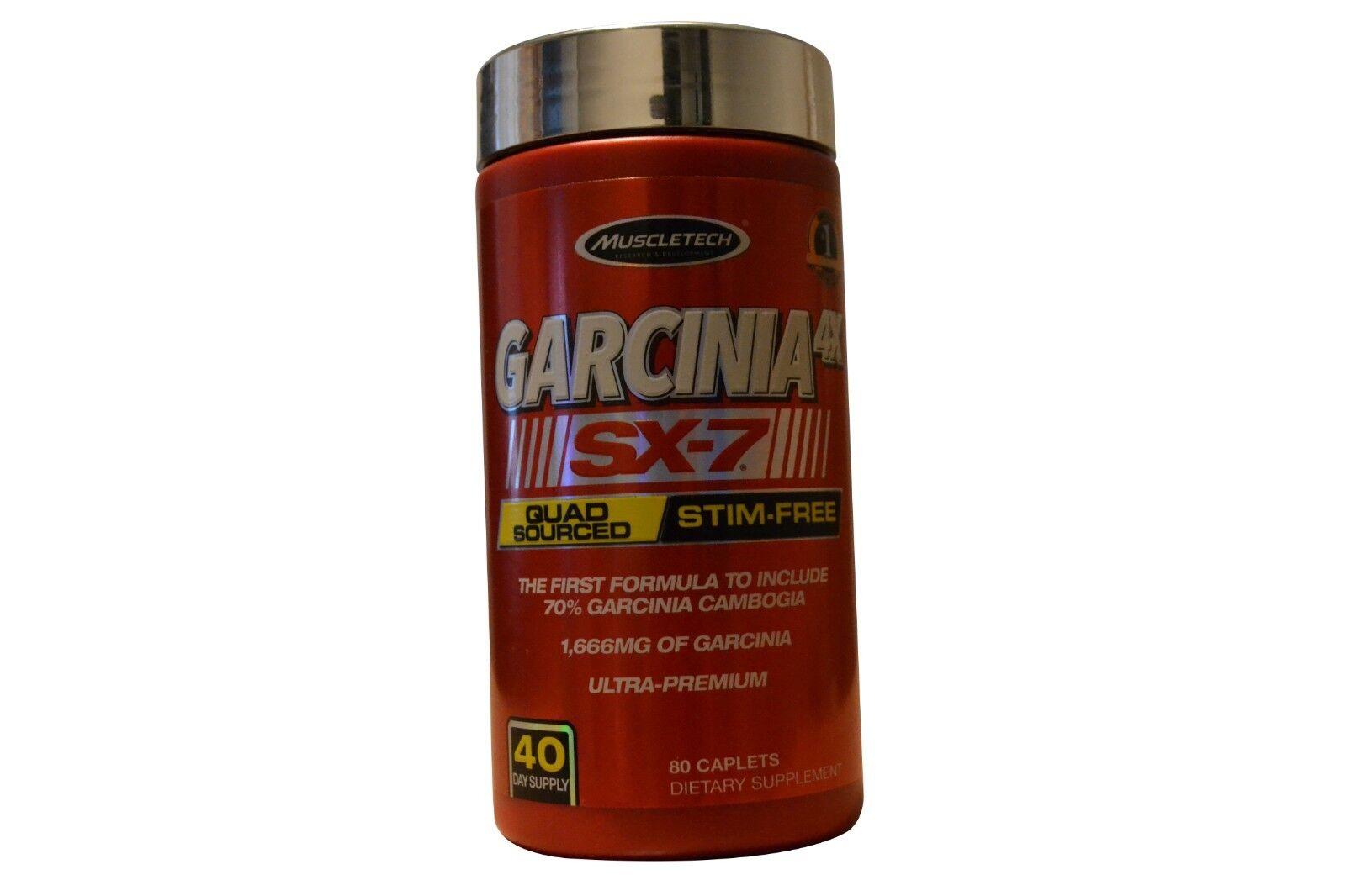 Muscletech Garcinia 4X SX-7 80 Caplets