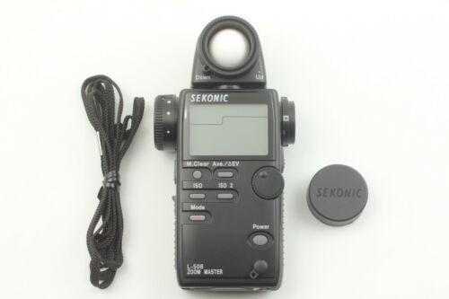 【Near MINT 】 Sekonic L-508 Zoom Master Digital Master Light Meter from JAPAN
