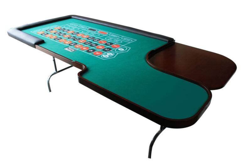 "90"" Folding Legs Professional MRC Roulette Table"