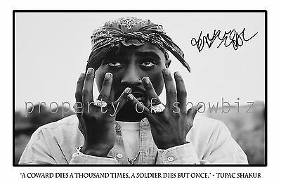 * TUPAC SHAKUR * large autograph poster 2PAC. perfect gift, looks great framed