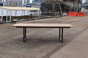 Modern Dining Table - 8/10 person - Genuine American Oak Docklands Melbourne City Preview