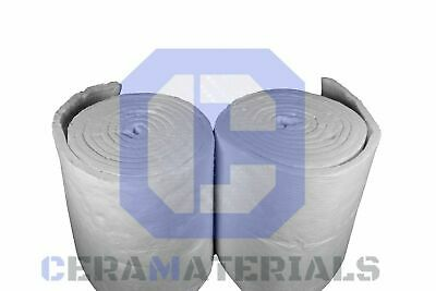Ceramic Fiber Blanket 2300f 8 High Temp Thermal Insulation Kaowool 2x24x12.5