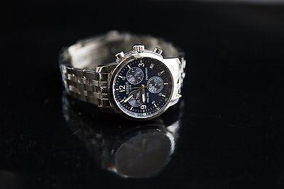 Men Tissot T17.1.586.42 Sport PRC200 Chronograph Stainless Steel Blue Dial Watch comprar usado  Enviando para Brazil