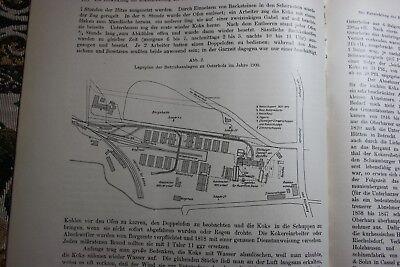 1912 Fragment Zeitschrift Bergbau / Grafschaft Schaumburg  Koks ...25 Seiten