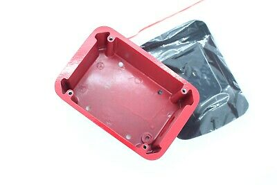 Sigcom Sg-wp Red Weatherproof Back Box Nema 3r For Pull Station
