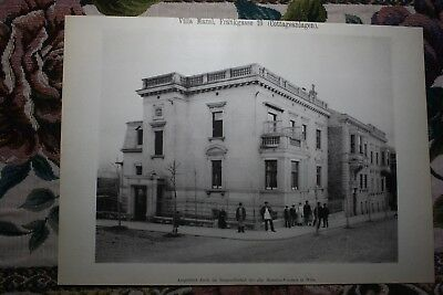 1886 9 / Wien Cottageviertel Villa Mazal FrankGasse 10 Währing