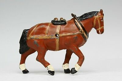 CHARBENS: HOLLOWCAST LEAD FARM ANIMALS: CART-HORSE in FULL HARNESS...!!