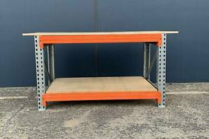 Tool Storage Work Bench Heavy Duty $198.00 Complete With 2 Levels