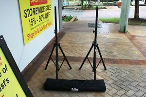 On-Stage Speaker Stand Package Including Travel Case, VGC Nerang Gold Coast West Preview