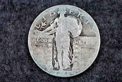 Estate Find 1928 - D Standing Liberty Quarter H2411 - $4.00