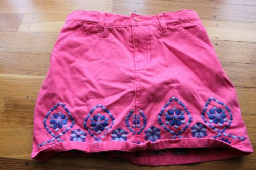Girls pink skirt used size 6 Gymboree