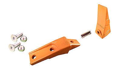 1 Skid Steer Bucket Shank Tooth Pin W Hardware Fits Many Bobcat Buckets