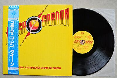 QUEEN Flash Gordon Movie Soundtrack Elektra Record w/OBI Japan Vinyl LP 1980 NM , usado comprar usado  Enviando para Brazil
