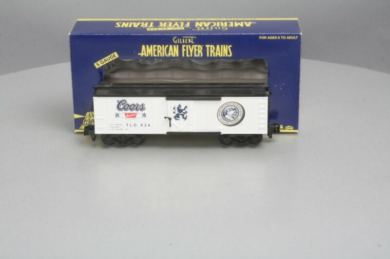 American Flyer 6-48253 2007 TCA Coors Brewing Company Reefer LN/Box