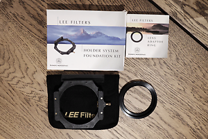 Lee Foundation kit and 77mm WA adapter Banks Tuggeranong Preview