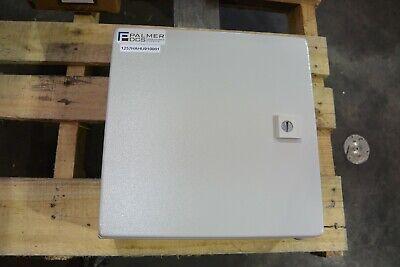 Rittal Wm 8017528 12x12x6 Nema 12 Gasketed Hinge Cover Enclosure