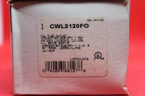 COOPER ARROW-HART FLGD. OUTLET CWL2120FO **NEW**