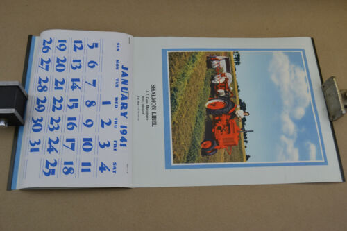 Vintage Original 1941 JI Case Tractors Calendar unused from Oregon dealer