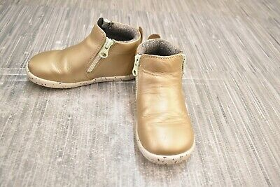 **Bobux I-Walk Tasman Boot, Toddler Size 6.5M, Gold