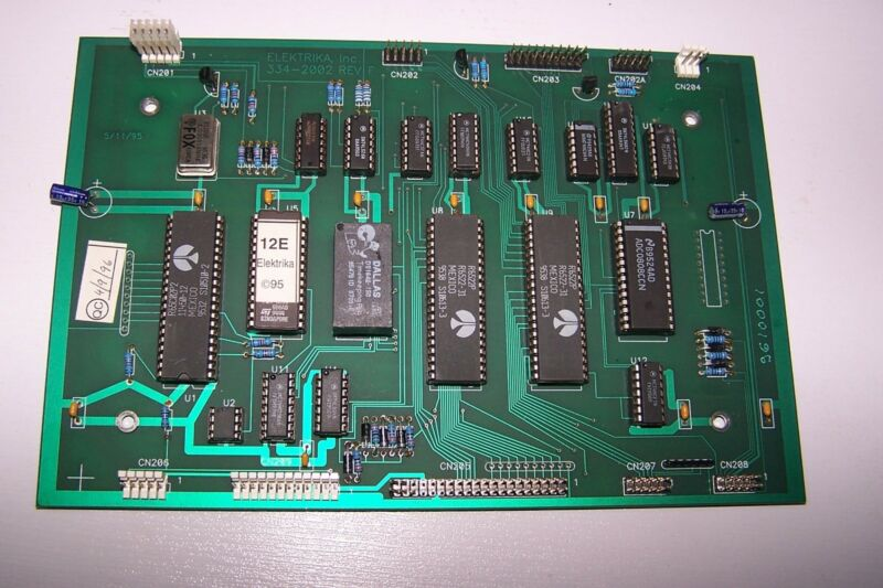 Elektrika Inc 334-2002 Rev F