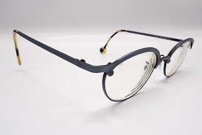 NICE L.A. Eyeworks Kit 422 Blue Brown Tortoise Rx Eyeglasses Frames Cat Eye 6865