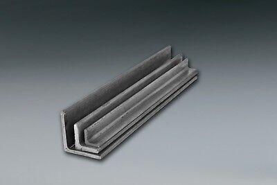 "1 Piece 4 x 4 x 1//4/"" x 24/"" A36 Mild Steel Steel Angle Iron Ships UPS"