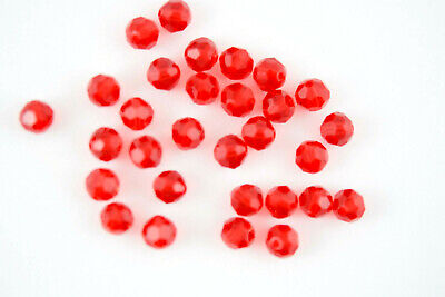 15 X Swarovski Style #5000 LIGHT SIAM Faceted Crystal Round 6mm