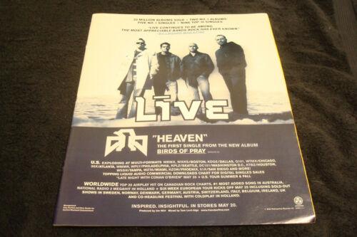 LĪVE 2003 ad Chad Taylor, BMI POP AWARDS Linkin Park, Nickelback, Holland Dozier