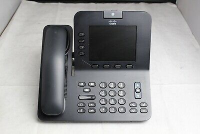 Lot Of 10 Cisco Cp-8945 4-line Video Conference Ip Business Office Phones