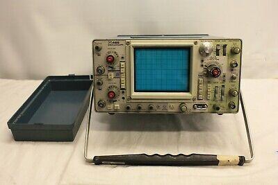 Tektronix 465 Analog Oscilloscope 100mhz Dual Cahnnel