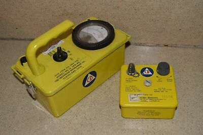 Victoreen Instrument Model 1a Cdv-715 Radiation Detector Charger Mod 5b G1