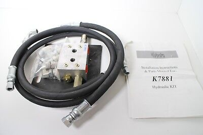 Kubota K7881 Hydraulic Valve Kit For Kx91-2 Kx121-2 Excavators