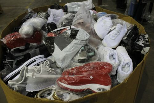 Huge Pallet Wholesale Lot Athletic Sneakers Shoes Asst Brand/Style & Size