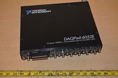National Instruments Ni Daqpad-6052e Acquisition Module Multifunction Daq
