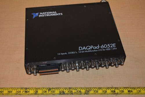 National Instruments NI DAQPad-6052E Acquisition Module, Multifunction DAQ