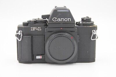Canon F-1 (New Version) 35mm SLR Film Camera Body - F-1n - Fresh Seals - #K70802