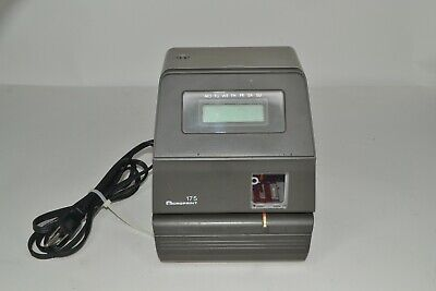 Acroprint 175 Time Clock - Used No Key