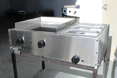Taco Cart 36 Food Cart Plancha Para Tacos Griddle Cart With Steamers