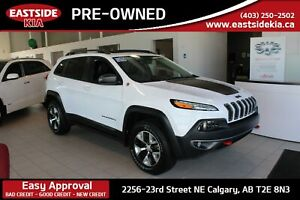 2018 Jeep Cherokee TRAIL HAWK HEATED VENTILATED LEATHER 4WD PANO