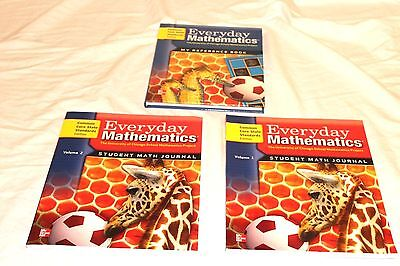 (Everyday Mathematics Grade 1 Student Materials Set Journals New CCSS Common Core)