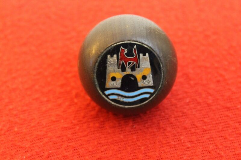 VW Volkswagen Wood Wooden Gear Shift Knob Handle Accessory Bug Beetle Wolfsburg