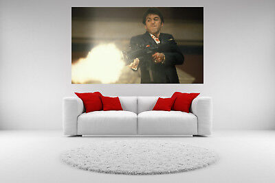 Scarface Al Pacino Canvas Shooting Picture Giclee Print Unframed Home Decor 2