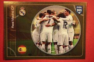 PANINI-FIFA-365-2017-N-78-TEAM-REAL-MADRID-TOP-MINT