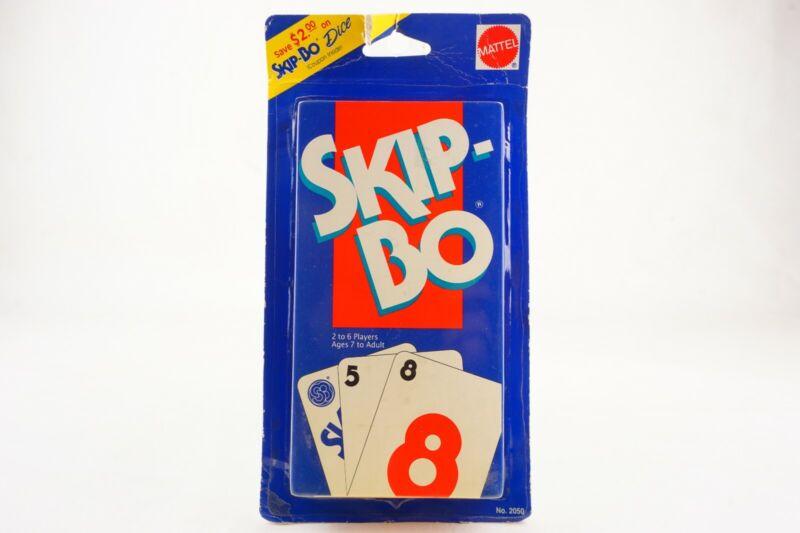 Vintage 1995 Mattel Skip Bo Card Game