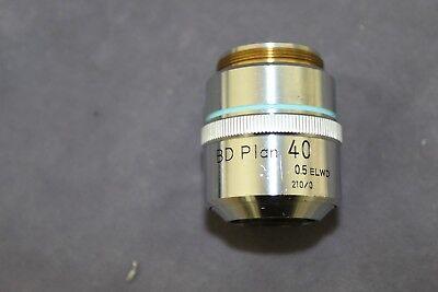 Nikon Microscope Objective Bd Plan 40x Elwd