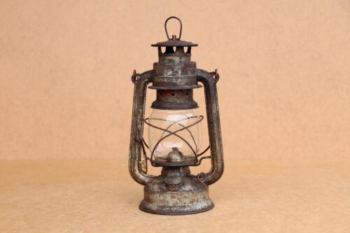 WW2 WWII Era Antique Vintage Lantern Hand Lamp BAT 158 Made in Germany Original