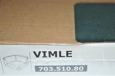 IKEA Bezug für Eckelement VIMLE - GUNNARED Dunkelgrün Sofabezug ECKE 703.510.80
