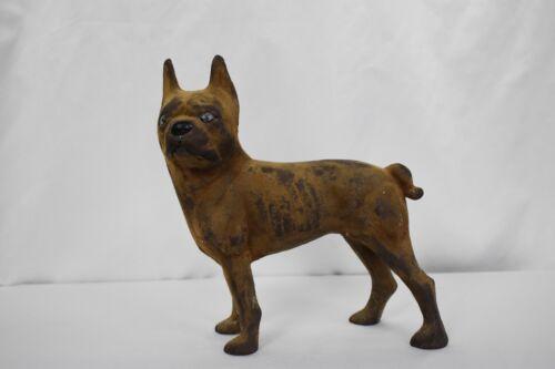 REDUCED!!! Antique Cast Iron Boston Terrier Door Stop