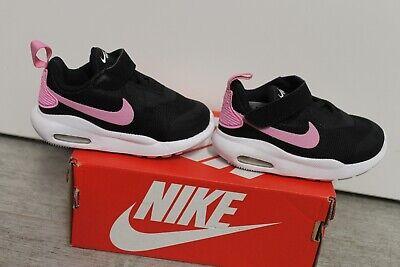 Nike Bebé Niña Chica Air Max Oketo Zapatillas Negra Rosa Talla 21...