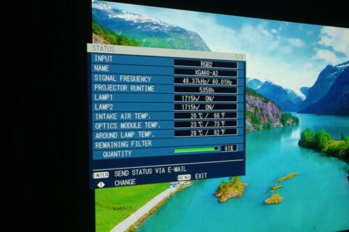 Panasonic PT-DW6300US Projector(SIC23790)